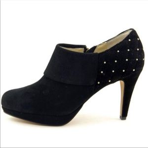 NWT Black Ankle Booties by Adrienne Vittadini